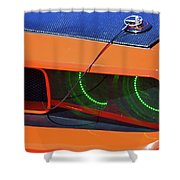 Custom 2009 Dodge Challenger Shower Curtain