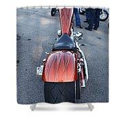 Custom Bike 2 Shower Curtain