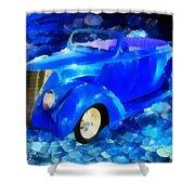 Custom Car  Shower Curtain