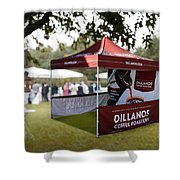 Custom Event Tents For Branding Shower Curtain