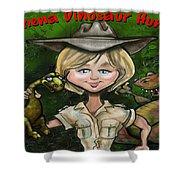 Custom Gift Caricature Shower Curtain