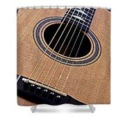 Custom Made Guitar Shower Curtain