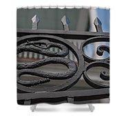 Custom Snake Gate Shower Curtain