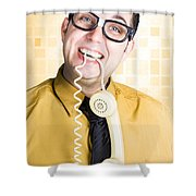 Customer Service Feedback Shower Curtain