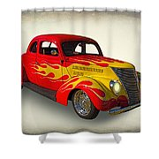 Customized Ford Shower Curtain