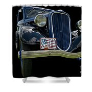 Customs 2 Shower Curtain