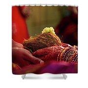 Customs Of The Kannada Wedding Shower Curtain