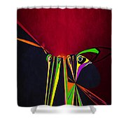 Cut It Out Shower Curtain