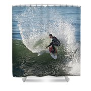 Cutback Splash Shower Curtain
