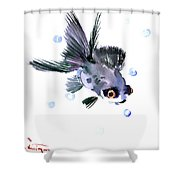 Cute Fish Shower Curtain