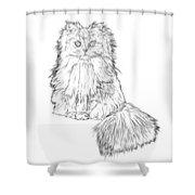 Cutest Kitten On The Web Shower Curtain