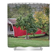 Cutler-donahoe Covered Bridge Shower Curtain