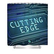 Cutting Edge Concept. Shower Curtain