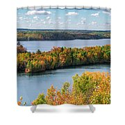 Cuyuna Country State Recreation Area - Autumn #1 Shower Curtain
