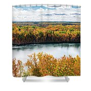 Cuyuna Country State Recreation Area - Autumn #2 Shower Curtain