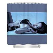 Cybera N7 Shower Curtain