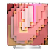 Cyberstructure 15 Shower Curtain