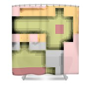 Cyberstructure 8 Shower Curtain