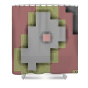 Cyberstructure 9 Shower Curtain