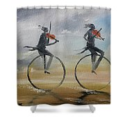Cycle Of Violins #2 Shower Curtain