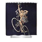 Cycles Sirius - Paris 1899 Shower Curtain