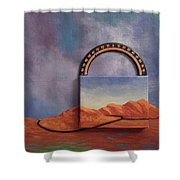 Cyclic Existence Shower Curtain