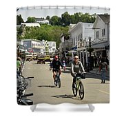 Cycling The Island Shower Curtain