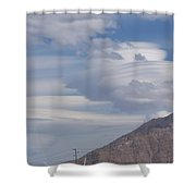 Cyclone Cloud Crowd Shower Curtain