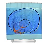 Cyclone Sculpture 3 Shower Curtain
