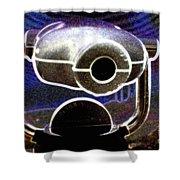 Cyclops Viewer Shower Curtain
