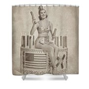 Cyd Charisse Hollywood Actress, Pinup And Dancer Shower Curtain