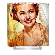 Cyd Charisse, Vintage Hollywood Legend Shower Curtain