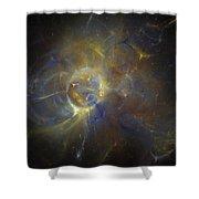 Cygnus Shower Curtain