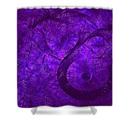 Cyllene-2 Shower Curtain