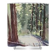 Cypress Mt. Shower Curtain