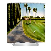 Cypress Palms Shower Curtain