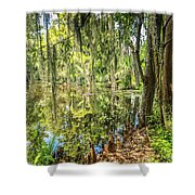 Cypress Pond Delight Shower Curtain