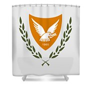 Cyprus Coat Of Arms Shower Curtain