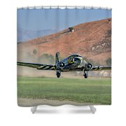 D-day Doll On Veterans Day 3 Shower Curtain