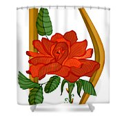 D Is For Dreams Shower Curtain