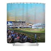 D P World Tour Championship 2013 Shower Curtain