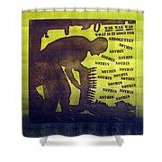 D U Rounds Project, Print 11 Shower Curtain