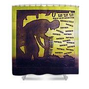 D U Rounds Project, Print 15 Shower Curtain