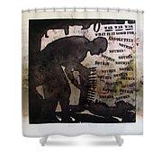 D U Rounds Project, Print 19 Shower Curtain