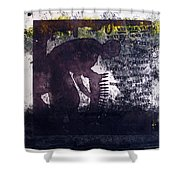 D U Rounds Project, Print 6 Shower Curtain