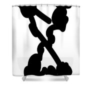 D2-002 Shower Curtain