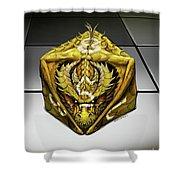 D8 Dragon Shower Curtain