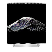 Da Mountain And Stadia Shower Curtain