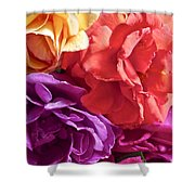 Dad's Roses Shower Curtain