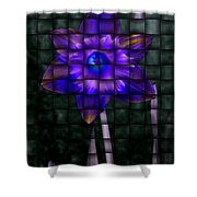 Daffodil Weave 2 Shower Curtain